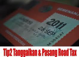 Peringatan Harian ke 36=Roadtax Expired Date?