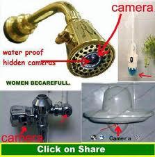 Terpaksa beli alat pengesan kedudukan kamera pengintai dan pemusnah sistemnya??