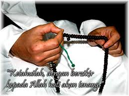 I use this biji tasbih for destroy my madness and to clean my dirty heart which full of sin.