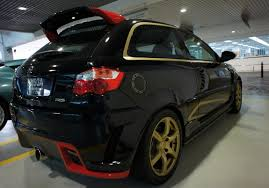 This is Proton Satria Neo Supercharged